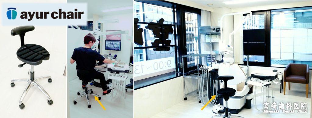 アーユルチェア 宮崎歯科医院すべてのユニットで導入