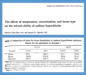 パラホルムアルデヒド製剤 FC ペリオドンは根管治療薬として適さない 文献 科学的根拠