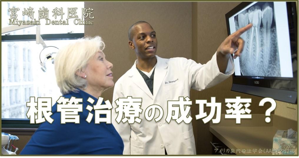 根管治療の成功率について 画像