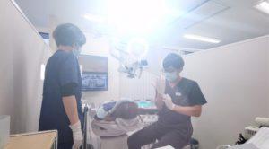 歯の神経を残す治療 マイクロスコープ